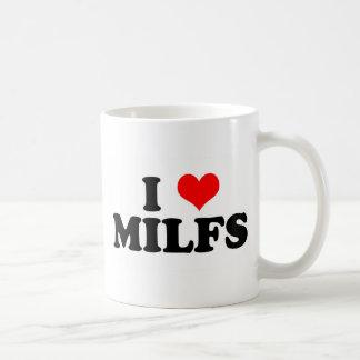 I Heart Milfs Coffee Mugs