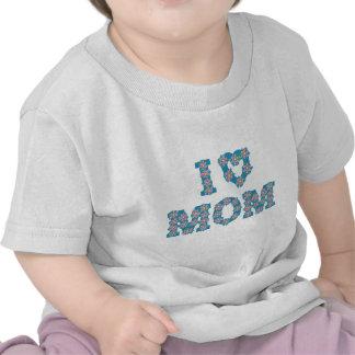 I Heart Mom Tee Shirts
