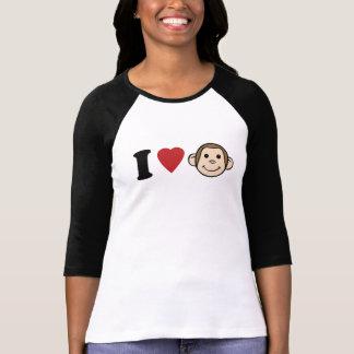 I Heart Monkeys T-shirts