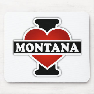 I Heart Montana Mouse Pad