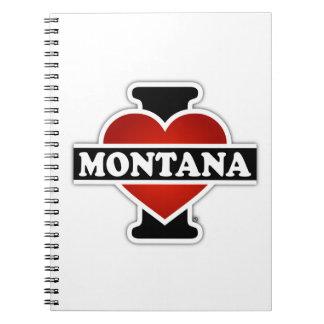 I Heart Montana Notebook