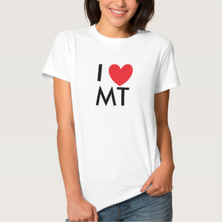 I Heart Montana T-shirt