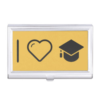 I Heart Mortarboards Business Card Cases