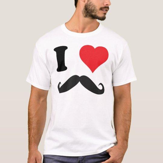 I HEART MOUSTACHE! T-Shirt