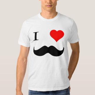 I Heart Moustaches T Shirt