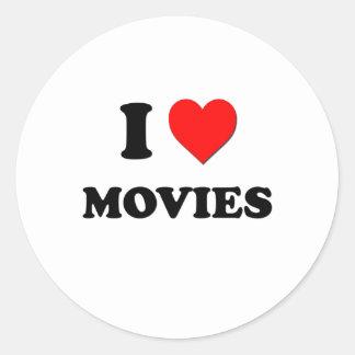 I Heart Movies Sticker
