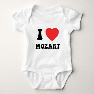 I Heart Mozart Baby Bodysuit