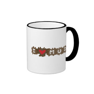 I Heart Mud Coffee Mug