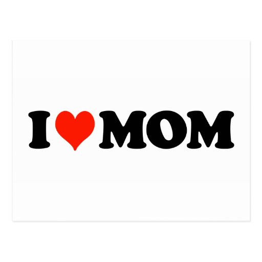 I Heart Mum Postcard