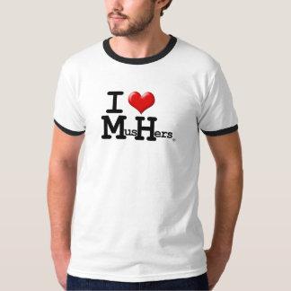 I Heart Mushers Tee Shirt