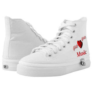 I Heart Music High Tops