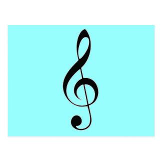 i heart music postcards
