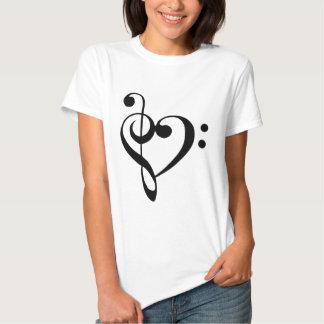 I heart music tee shirts