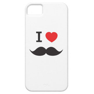 I Heart Mustache Barely There iPhone 5 Case