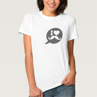 I Heart Mustache Tshirt