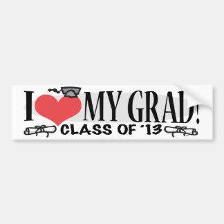 I Heart My 2013 Grad Bumper Stickers