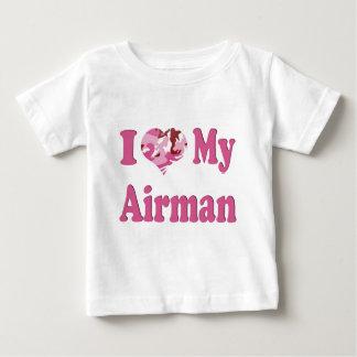 I Heart My Airman Baby T-Shirt