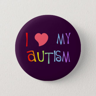 I Heart My Autism Buttons