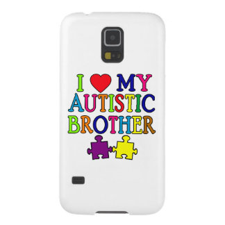 I Heart My Autistic Brother Galaxy S5 Case