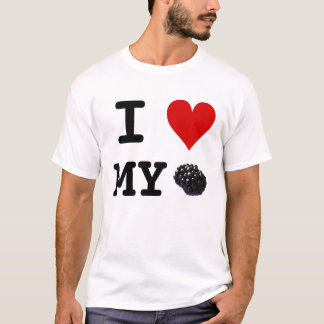 I Heart My Blackberry tshirt