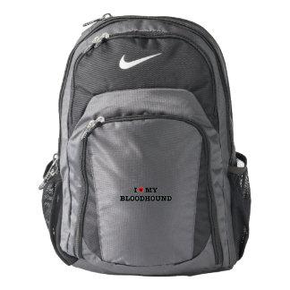 I Heart My Bloodhound Nike Backpack