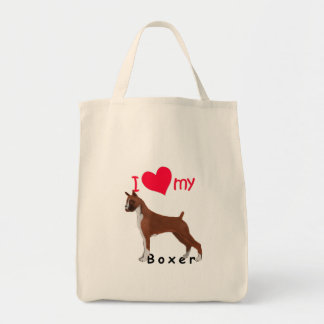 I Heart My Boxer Bags