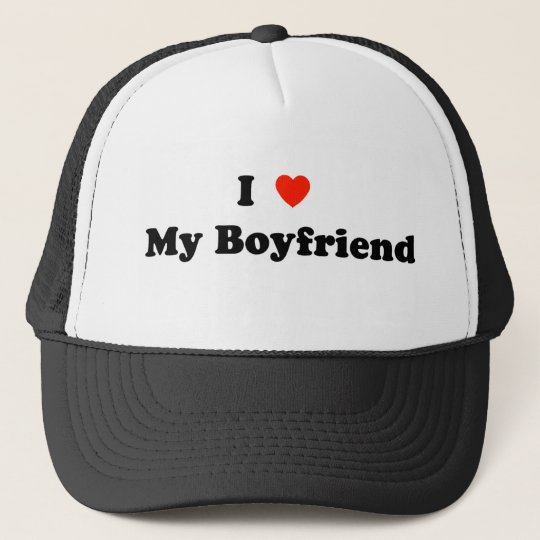 I Heart My Boyfriend Hat
