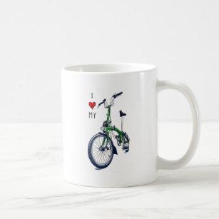 I heart my Brompton (green) Coffee Mug