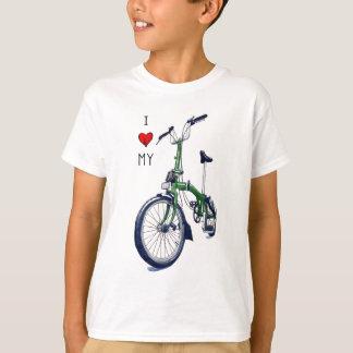 I heart my Brompton (green) Shirts