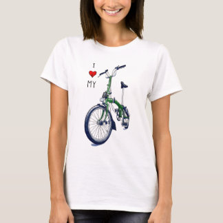 I heart my Brompton (green) T-Shirt