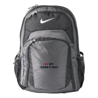 I Heart My Cane Corso Nike Backpack