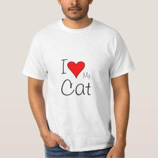 I heart my cat shirts