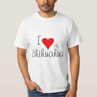 I heart my chichuahua T-Shirt
