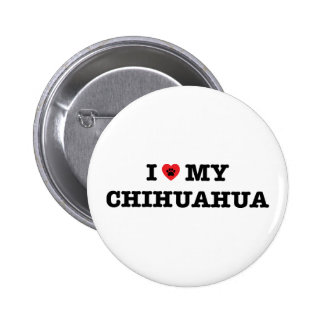 I Heart My Chihuahua Button