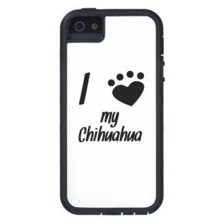 I Heart My Chihuahua iPhone 5 Case