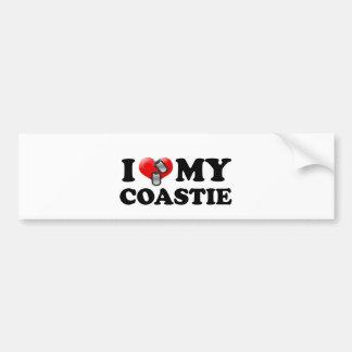 I heart my Coastie Bumper Sticker