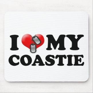 I heart my Coastie Mouse Pad