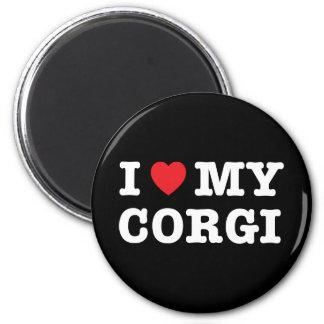 I Heart My Corgi Magnet