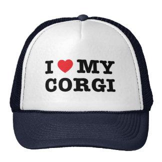 I Heart My Corgi Trucker Hat