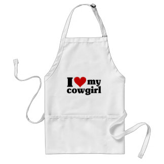 I Heart My Cowgirl Apron