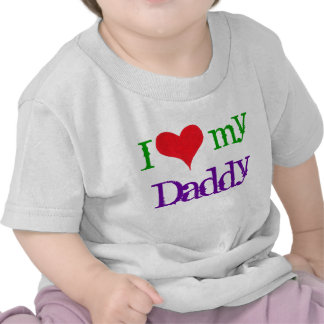 "I ""Heart"" My Daddy - T-shirt"