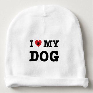 I Heart My Dog Baby Beanie
