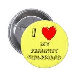 I Heart My Feminist Girlfriend! Pins