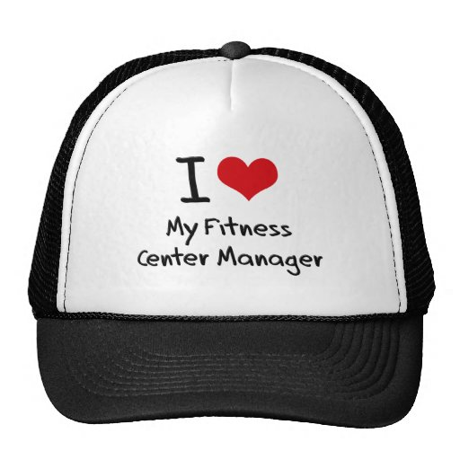 I heart My Fitness Center Manager Trucker Hat