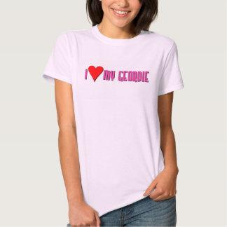 """I """"heart"""" My Geordie Tshirts"""