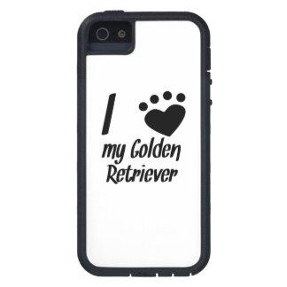 I Heart My Golden Retriever iPhone 5 Cases