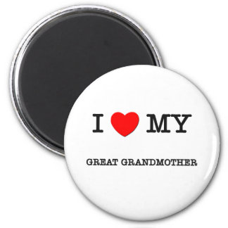 I Heart My GREAT GRANDMOTHER Magnet
