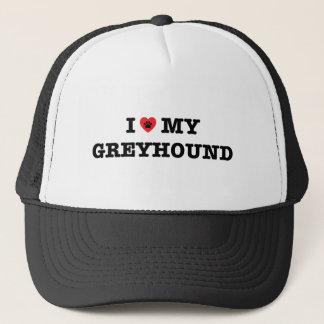I Heart My Greyhound Trucker Hat