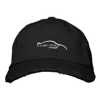 I Heart My GT-R Embroidered Hats