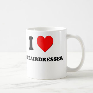 I Heart My Hairdresser Coffee Mug